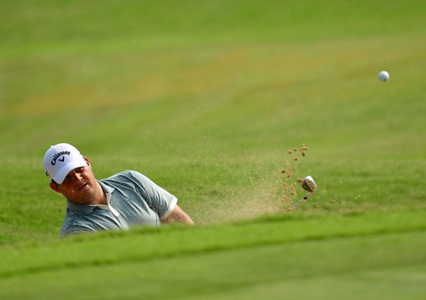 PRO golf players in Indonesia Open